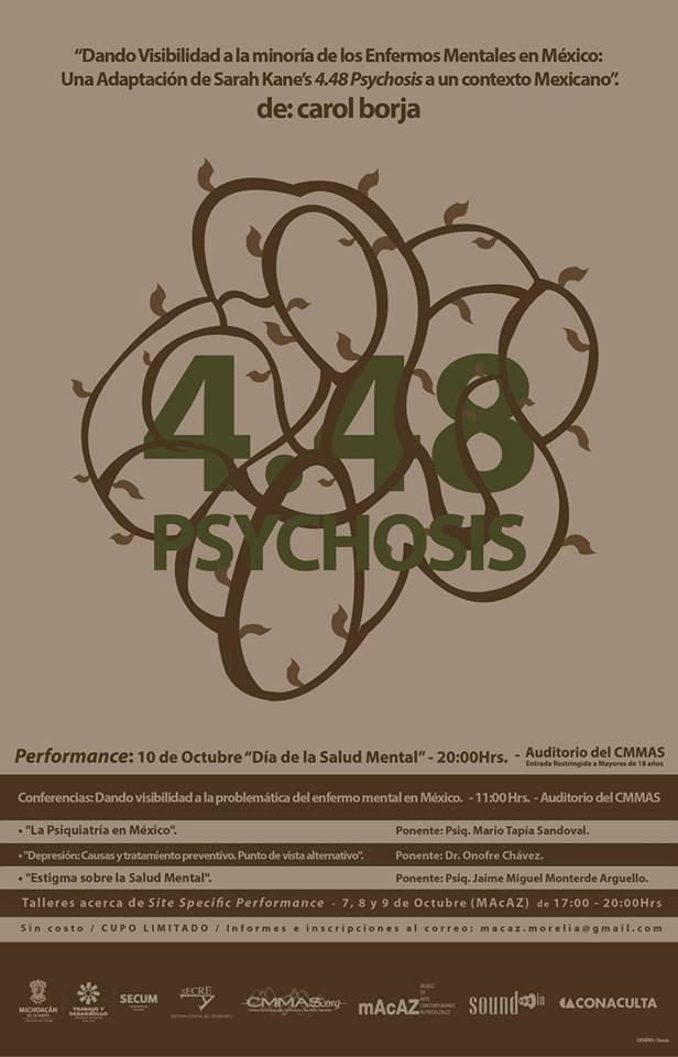 Psychosis 4.48 Poster