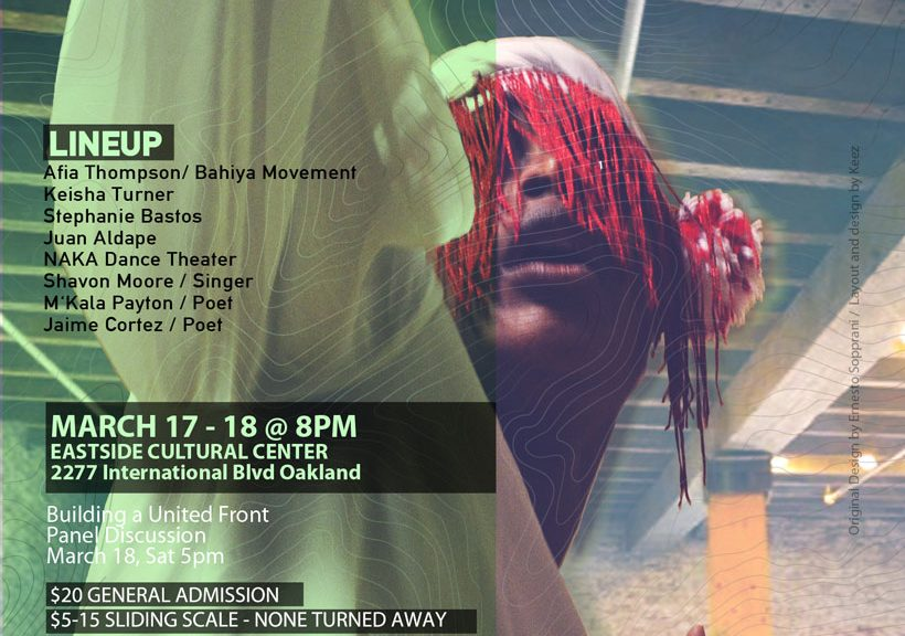 Live Arts in Resistance Showcase #5 Featuring Juan M Aldape
